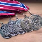 To sølv og tre bronse fra NM og nordisk sesongen 2009
