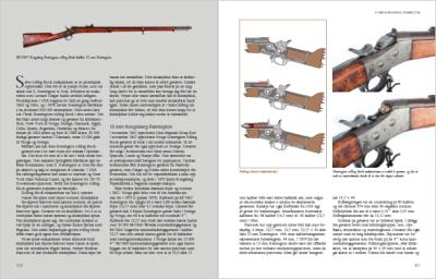 Et kapittel om Remington rolling block-geværet er obligatorisk.