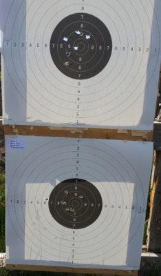 Remington match-skivene. Er det 89 eller 90 poeng? Dommerne mente 89, jeg mener 90.